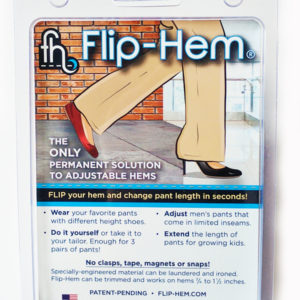 Flip-Hem, Adjustable Hems